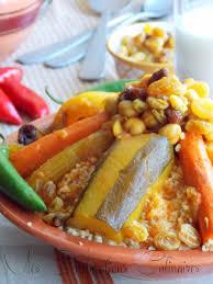 cuisine du monde recette couscous tunisien الكسكسي التونسي le cuisine de samar