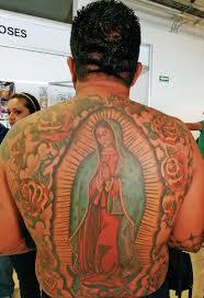 Tattoo Expo Monterrey Mexico Virgin Mary Back