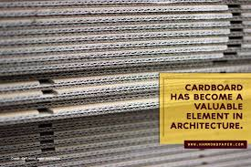100 The Architecture Company Role Of Cardboard In Hammond Paper