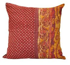 large decorative couch pillows bohemian kantha cushion cover p4