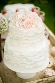 Romantic Rustic Inspiration Pastel Wedding Cake