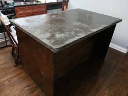 concrete countertop center island start to finish HD