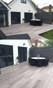tiles interlocking polywood deck diy wood patio tiles patio wood