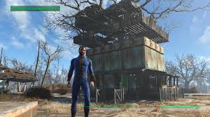 Mrs Wilkes Dining Room Menu by Fallout 4 My First Base Tree House Youtube