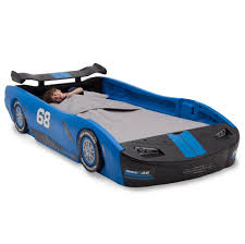 Corvette Toddler Bed by Delta Children Turbo Race Car Twin Bed Blue Toys