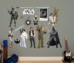 Fathead Princess Wall Decor by These U0027star Wars U0027 Decals Are Your Only Hope At A Cool Room The