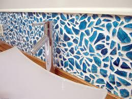 Mosaic Bathroom Mirror Diy by Mason Jar Mosaic Backsplash Reality Daydream