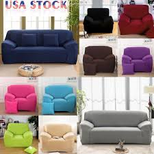 us ship stretch chair sofa covers 1 2 3 seater protector couch