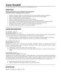 Resume Samples For Highschool Students Canada Objectives A Examples Objective In Career Exa