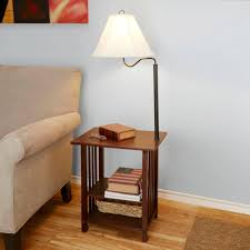 Tall Table Lamps Walmart by Floor Lamp With Shelves Pixball Com