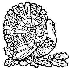 Coloring Turkey Page Free