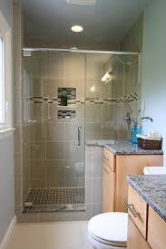 complete new bath custom tile shower with recessed niche