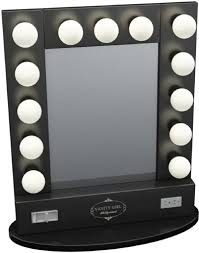 Vanity Table With Lighted Mirror Amazon by Broadway Table Top Lighted Vanity Mirror 27