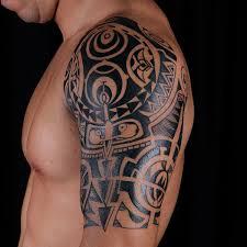 Tribal Arm Tattoo On TattooChief