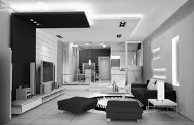 Interior Design Black And White Living Room photo