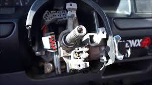 100 1992 Ford Truck OBS Loose Steering Column Repair YouTube