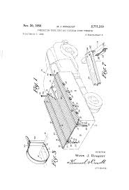 Patent US2771319 - Combination Truck Body And Flexible Cover ...