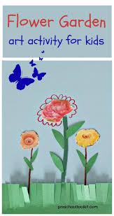 Flower Garden Art Activity For Kids