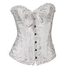 apple curves lace up bustier apple curves bridal shapewear