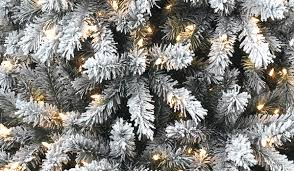 Flocked Artificial Christmas Trees Sale by How To Flock A Christmas Tree Christmas Tree Market