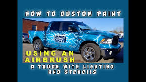 How To Custom Paint A Truck With Lightning And Stencils Using An ... 10 Chevrolet Themed Halloween Pumpkin Stencils Via Lafontaineauto M0189 Vintage Truck With Tree Muddaritaville Studio Amazoncom Christmas Red Truck Stencil Paint Your Own Sign Wood Silhouette Cameo Tutorial Oramask 5 Steps To Vintage Hot Rod Door Art By Andys Pstriping Listing Os Blog Archive Pack 1 Only 4995 Firetruck Sp Shopping Chalk Couture