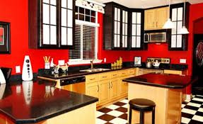 Kitchen Ideas Red And Black Brilliant Country Block Marble Top Grey