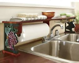 Grapes Over The Sink Shelf From Seventh Avenue R I Have A Lot Of Other Wine Decor