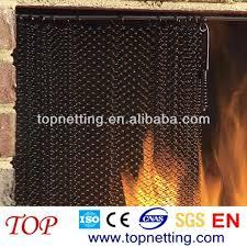 fireplace mesh curtain screens fireplace screen a fireplace