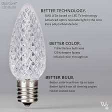 warm white opticore led globe light bulbs