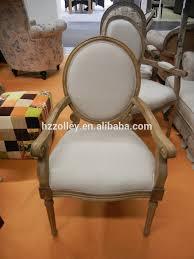 französisch provinziellen stil geschnitzt beine oval zurück eiche holz rahmen louis polster armlehne esszimmer stuhl buy französisch