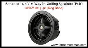 Sonance In Ceiling Speakers by Sonance 6 1 2