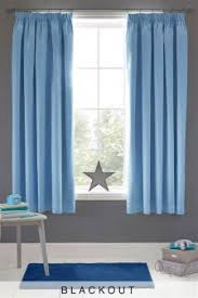 curtains and blinds curtains blue black out blackout next usa