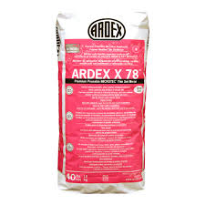 Thin Set Mortar For Porcelain Tile by Ardex X 78 Microtec Semi Pourable Tile And Stone Mortar