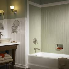 Beadboard Shower Ideas For BathroomsBathrooms