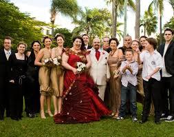 Gold Bridesmaid Style Groomsmen Wedding Photo
