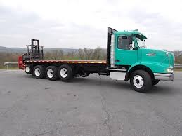 2002 Volvo Vhd Flatbed Dump Truck For Sale