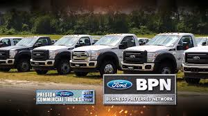Best Time To Buy Commercial And Work Truck Vehicles At Preston Ford ...