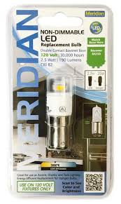 13125 led dc bayonet base non dimmable replacement bulb