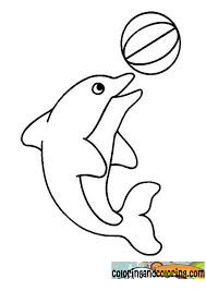 Perfect Coloring Pages Of Dolphins 84 With Additional Free Kids
