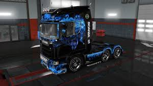 100 Monster Truck Simulator Skin DAF XF Euro 6 Mod For Euro 2