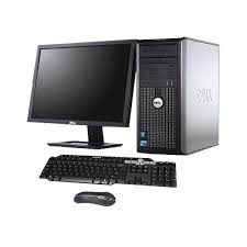 dell bureau pc bureau dell optiplex 755 complet pctop