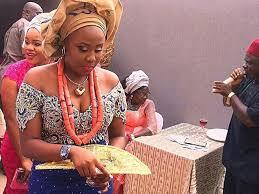 Igbo traditional wedding attire for groom
