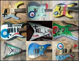 Mark Emerson Owner And Operator Of HoldFast Custom Paint Guitars In Glossodia NSW Gives Us The Low Down On Taking Your Six String To Next Visual