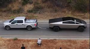 100 Ford Trucks Suck Wants Rematch In Tesla Cybertruck Vs F150 Tug Of War