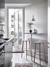 Narrow Kitchen Ideas Pinterest by Tiny Bar Table For A Small Kitchen Kitchen Blog Pinterest