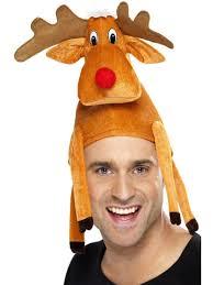 adult xmas reindeer hat amazon co uk toys games