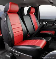 LeatherLite Custom Seat Cover, Fia, SL67-24RED | Titan Truck ...
