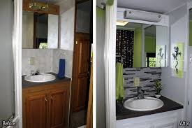 Rv Bath Before And After