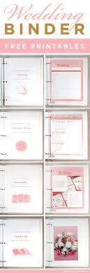 Get Access To These FREE Printables Help You Create The Wedding Planning Binder Of Your