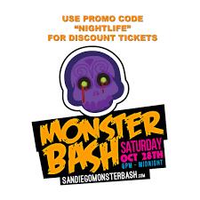Halloween Horror Nights Promo Codes 2017 by Monster Bash 2017 Halloween Gaslamp Discount Promo Code San Diego